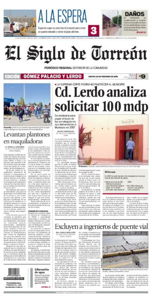 Portada de Gómez y Lerdo