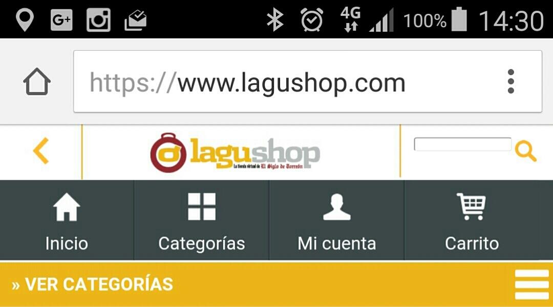 Comprar en tiendas en línea (internet)