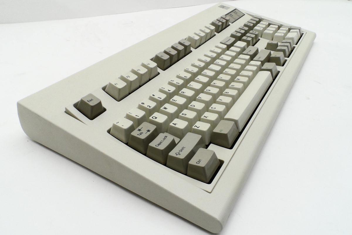 Un viejo teclado IBM