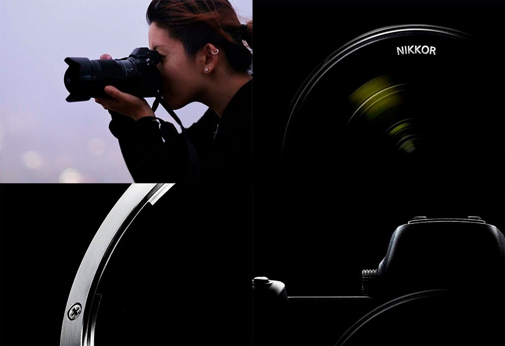 Cámara sin espejo de Nikon (nueva)