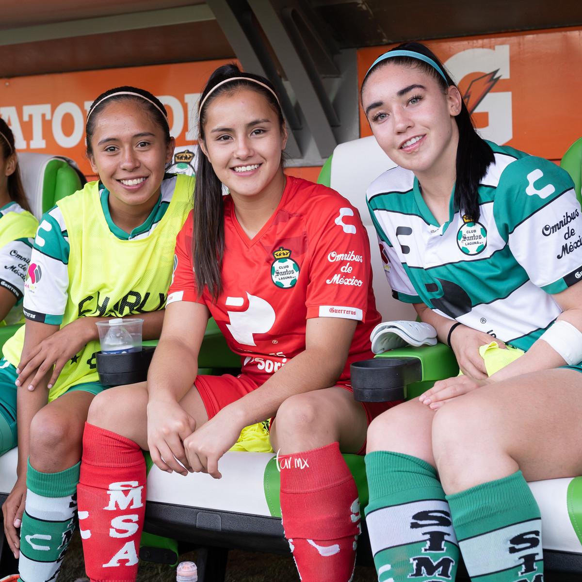 Fotos del Santos vs América femenil