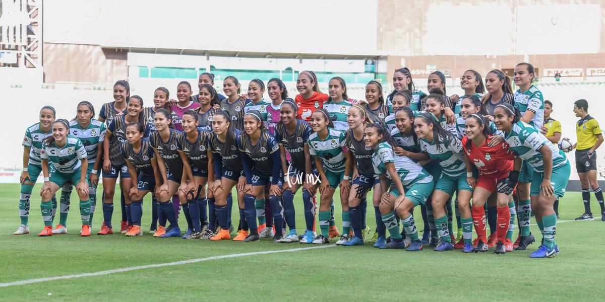 Fotos del Santos vs Atlético de San Luis femenil