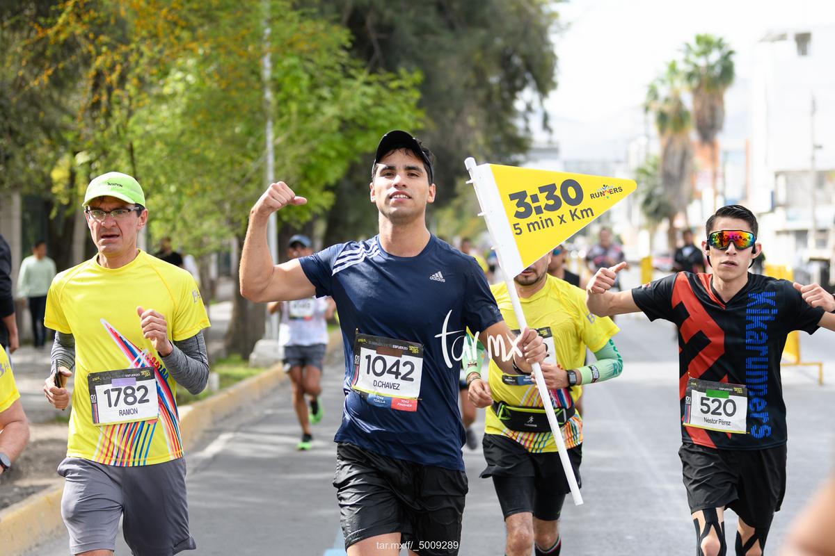 Fotos del Maratón Lala 2020, Bosque Venustiano Carranza