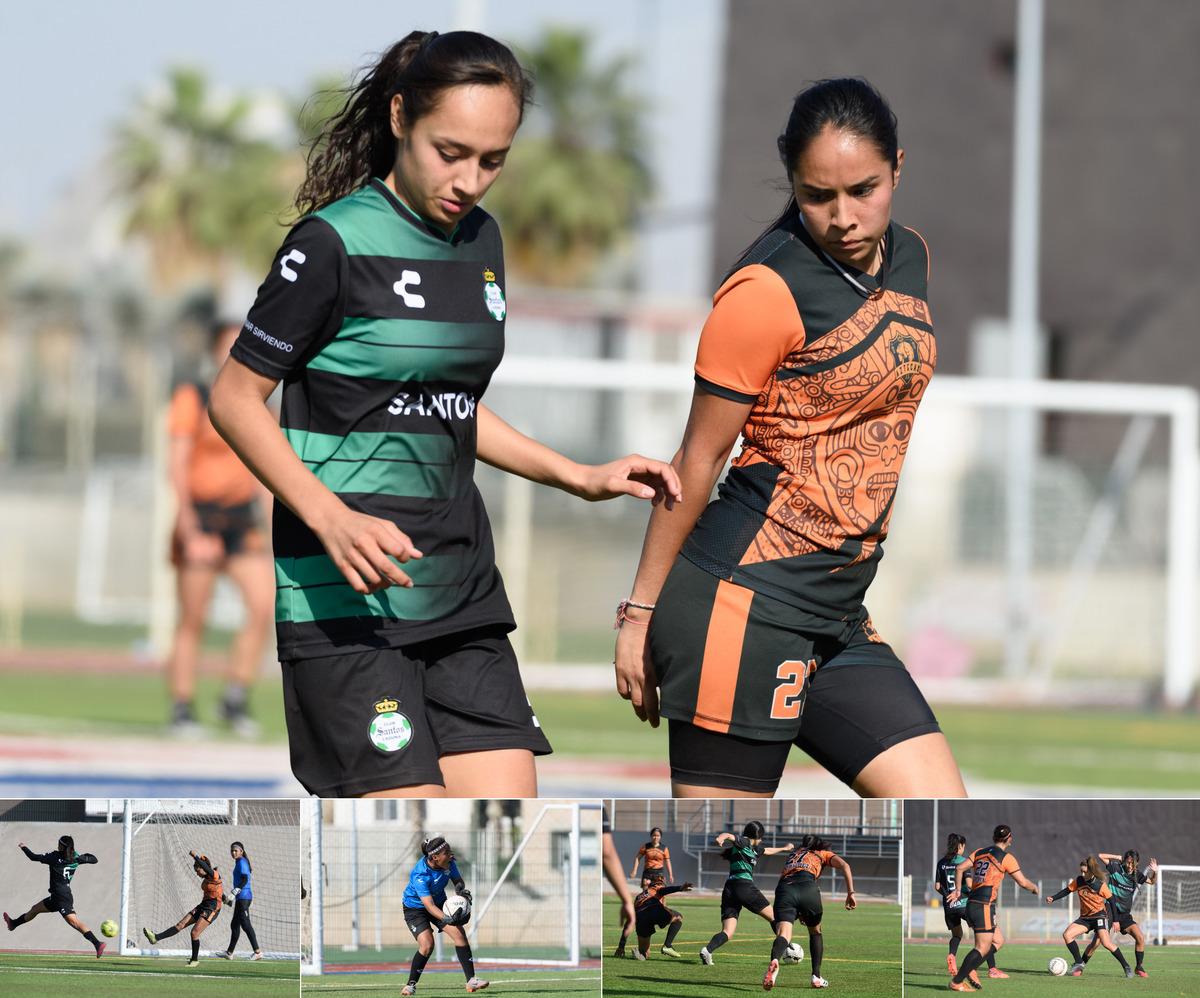 Fotos del Aztecas FC vs Santos FIS sub 20
