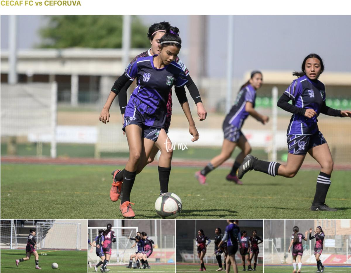 Fotos Cecaf FC vs CEFORUVA jornada 6 TSM Femenil CL21
