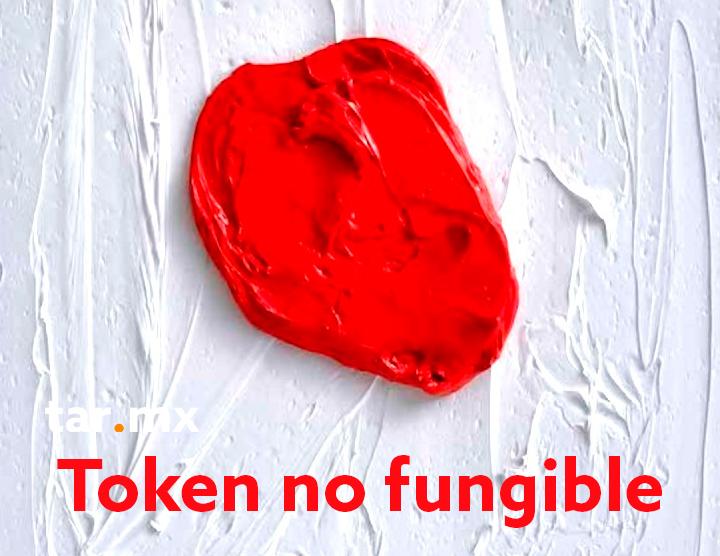 NFT token no fungible
