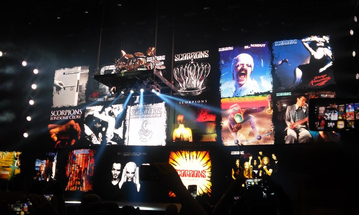 Toma del Final Sting Tour, en Monterrey