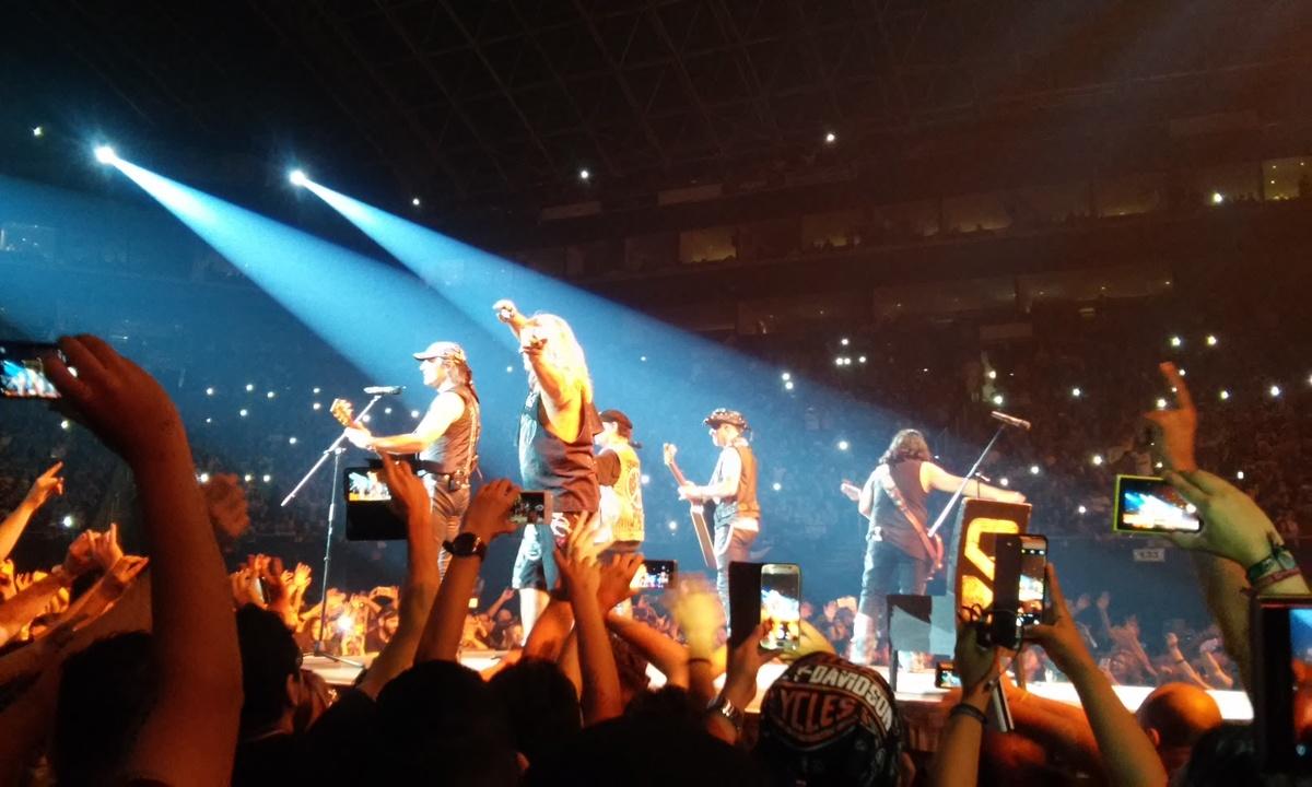 Despedida de Scorpions en la Arena Monterrey, 5 de septiembre de 2012