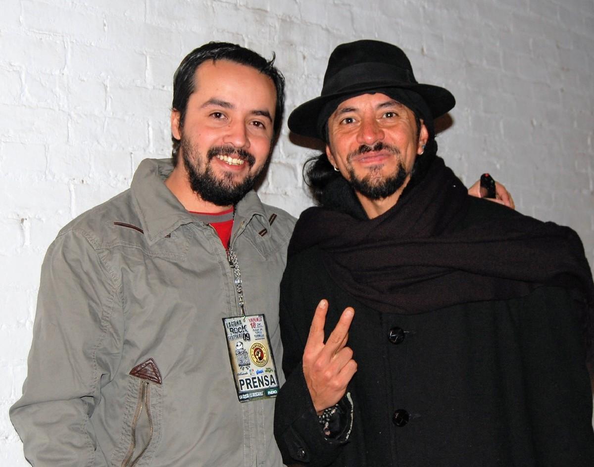En entrevista con Roco (2009), vocalista de Maldita Vecindad