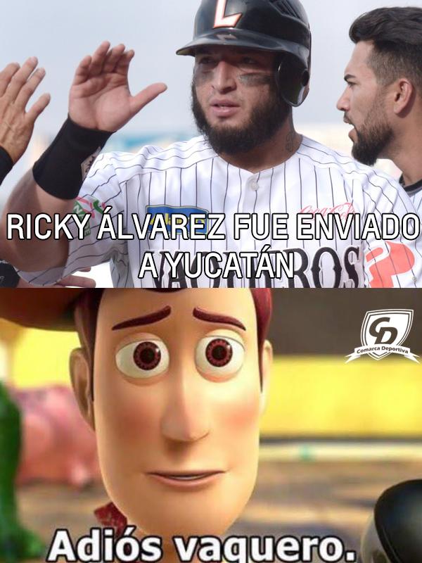 Ricky Álvarez fue enviado a @LeonesOficial ¿La directiva de @redvaqueros trabaja con la seriedad que prometieron?