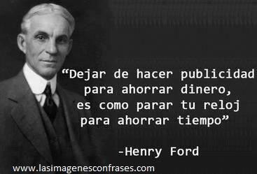 HENRY FORD, SIEMPRE SE APOYÓ EN OTROS