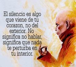 Y tú, ¿has sabido aprovechar los intensos silencios que han aparecido en tu vida?