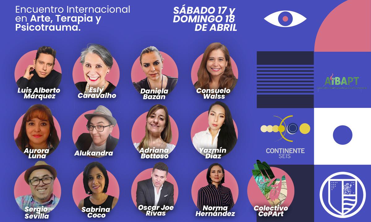 Encuentro Internacional en Arte, Terapia y Trauma