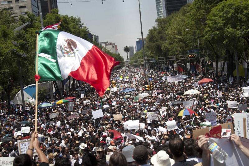 Mexico, el pais de los inconformes