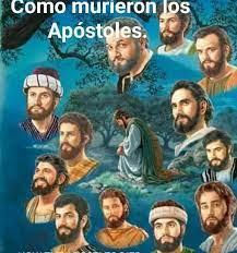 ¨Como murieron los apóstoles ¨