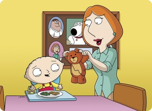 FAMILY GUY: Lois mends a torn Rupert and Stewie becomes obsessed with Lois in the FAMILY GUY season premiere episode