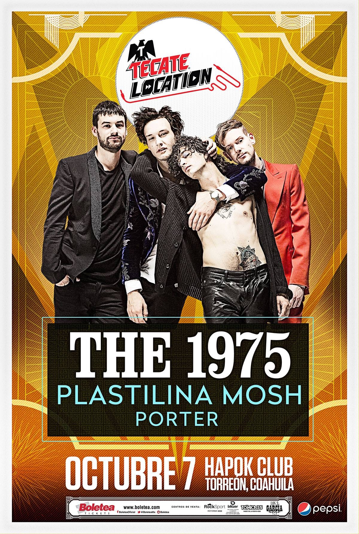 The 1975 en Torreón