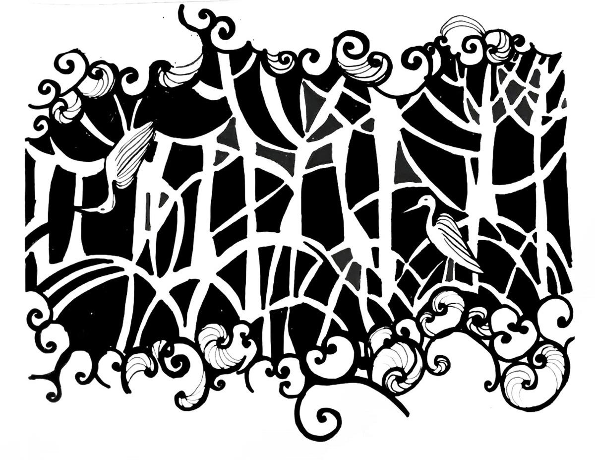Manglar, obra de Sabrina Coco