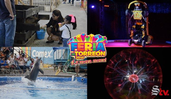 Las atracciones de La Feria de Torreón