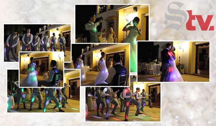 El baile 'alocado' de bodas