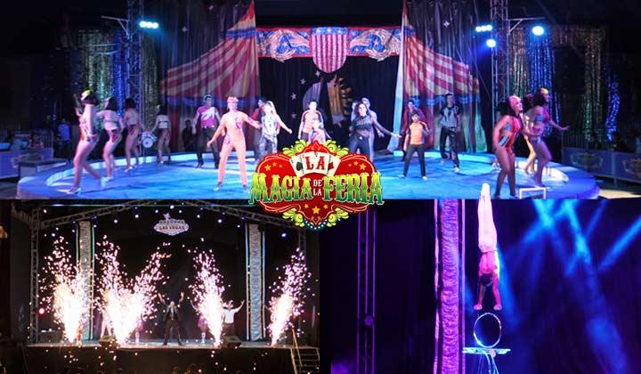 Grandes shows se presentan en la Feria Torreón