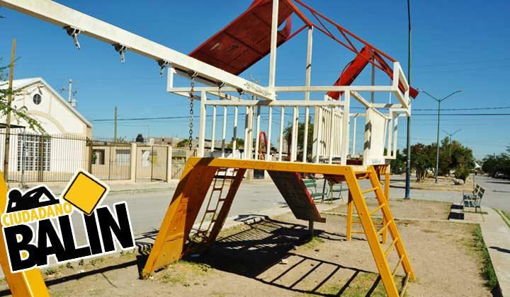 Abandonan áreas verdes en División del Norte en Torreón