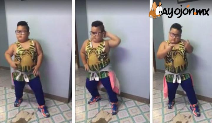Niño se hace viral bailando Sorry de Justin Bieber