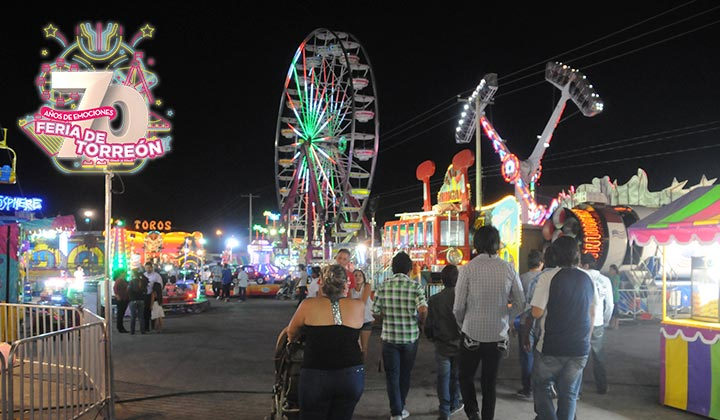 Celebra Feria de Torreón su 70 aniversario
