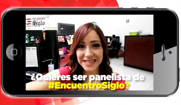 ¿Quiéres ser panelista de #EncuentroSiglo?