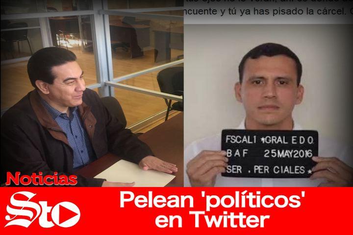 Pelean 'políticos' en Twitter