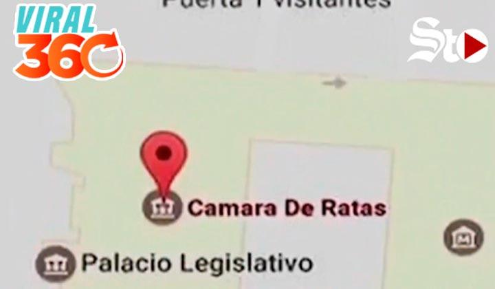 Renombran sedes de gobierno en Google Maps