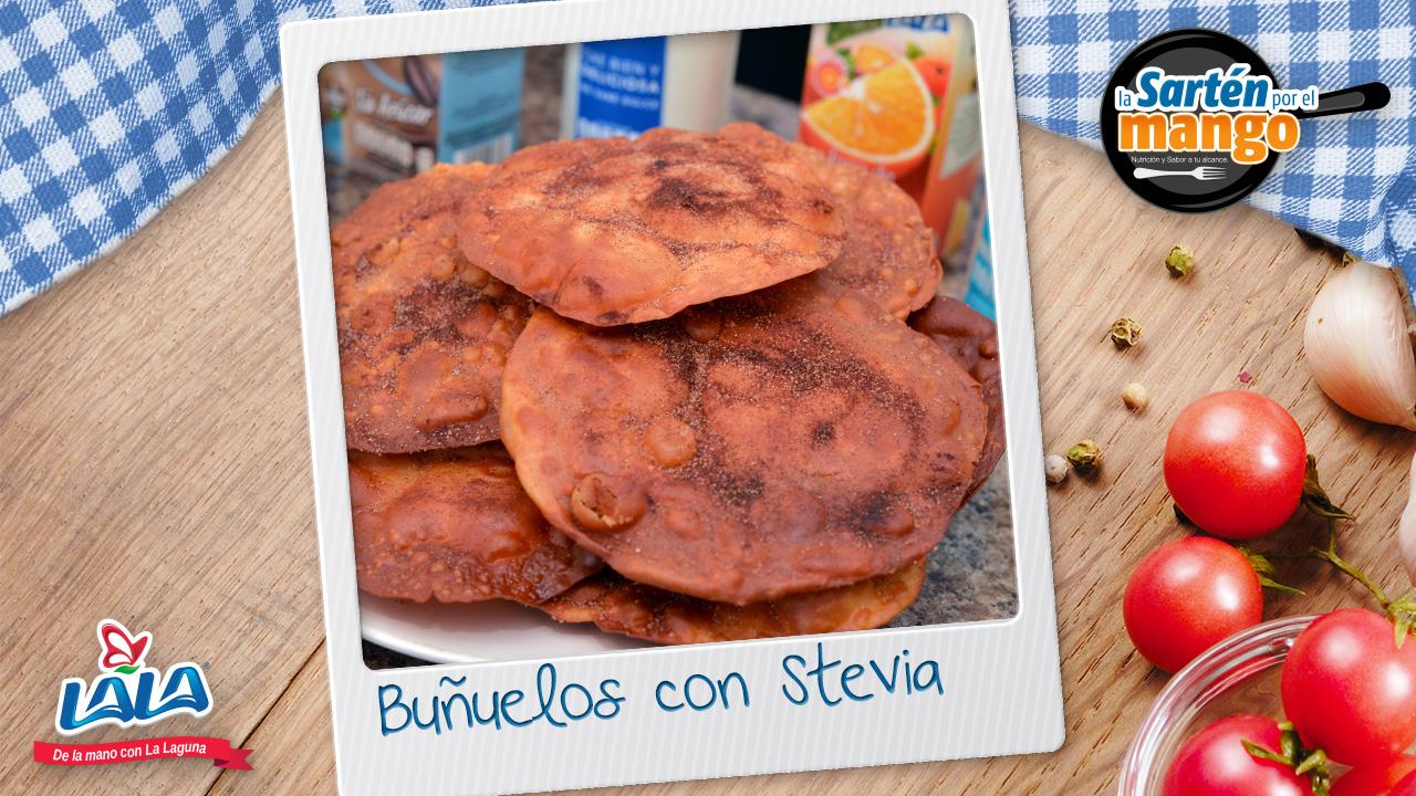 Lala te enseña a preparar estos dulces Buñuelos