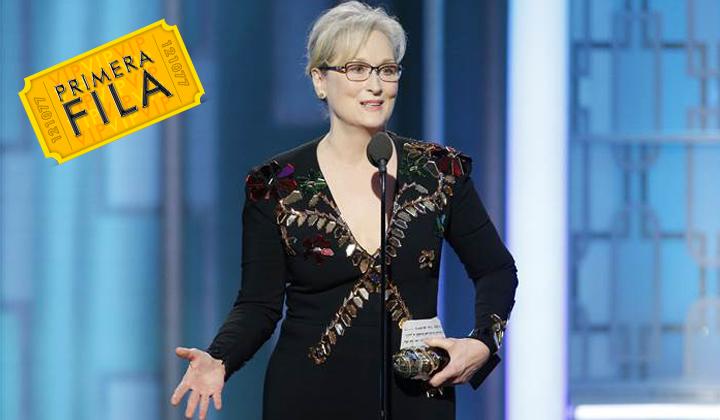 Meryl Streep habla sobre Donald Trump en los Globos de Oro