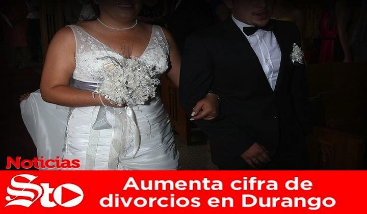Aumenta cifra de divorcios en Durango