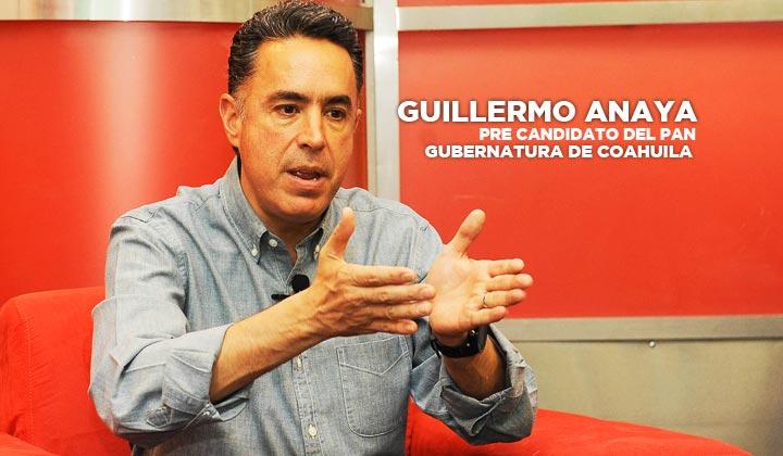 'Yo soy la oposición al moreirato', Guillermo Anaya