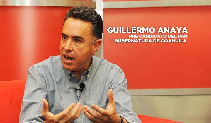 'La gente está harta de la corrupción', Guillermo Anaya