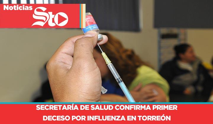 Confirman primer muerte por influenza en Torreón