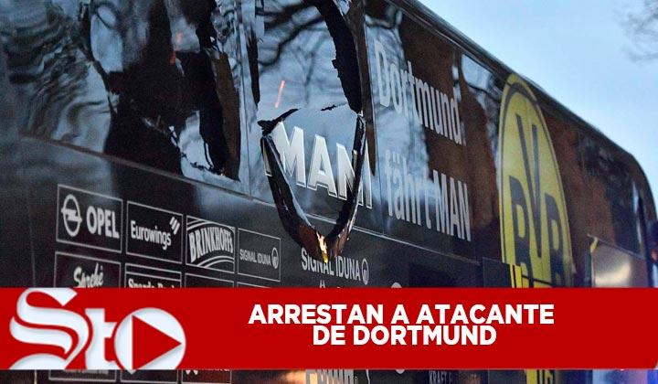 Arrestan a presunto autor del atentado al Dortmund