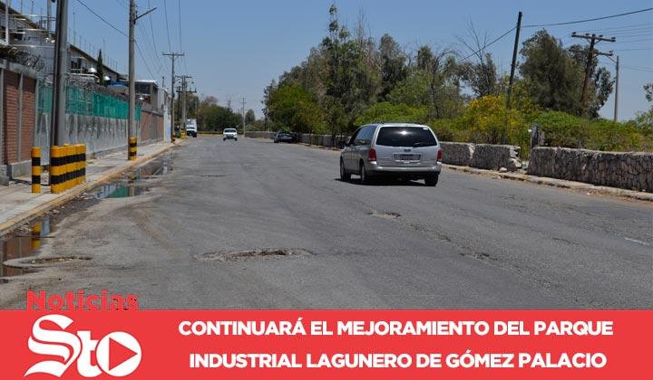 Parque Industrial de Gómez Palacio tendrá mejora
