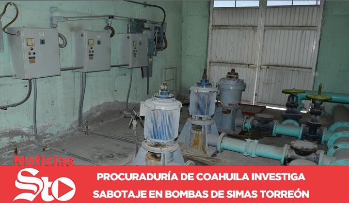 Investigan presunto sabotaje de bombas de Simas