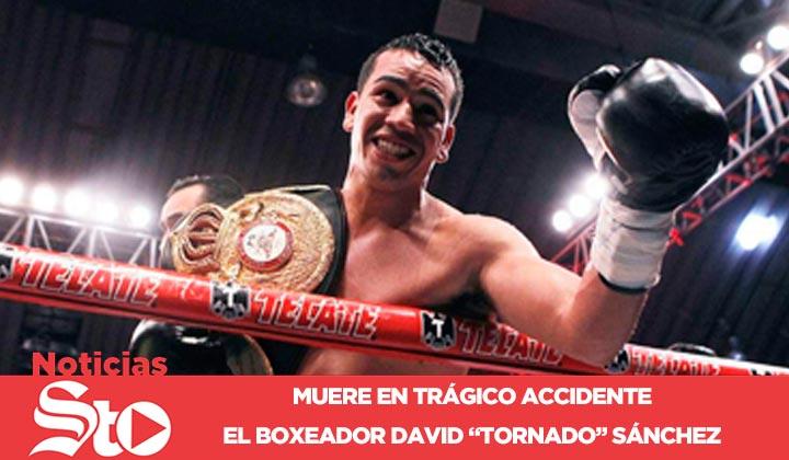 Muere el boxeador 'Tornado' Sánchez