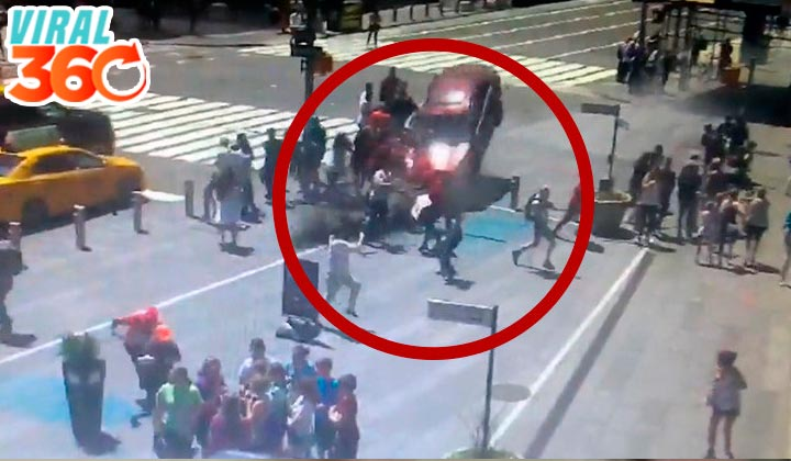 Difunden video del atropello en Times Square