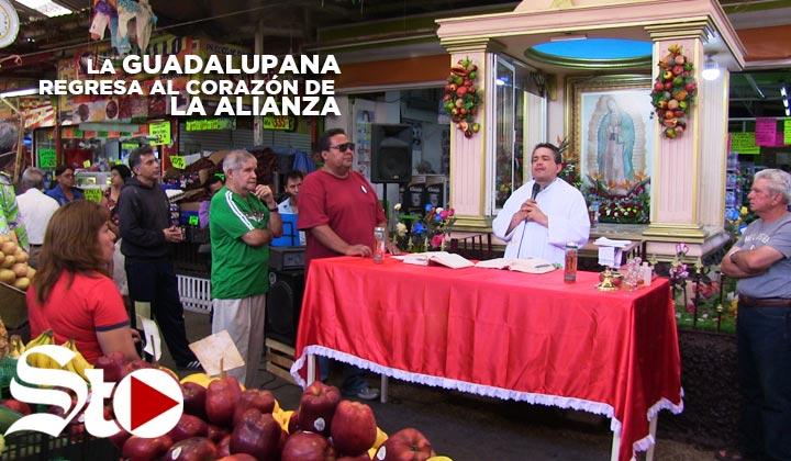 La Guadalupana regresa a La Alianza