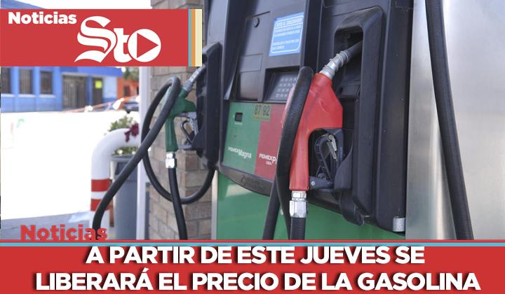 Se liberará el precio de la gasolina
