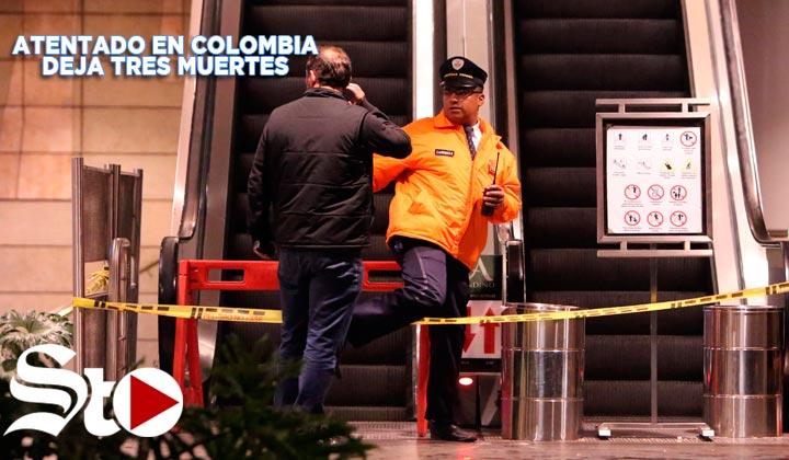 Atentado deja 3 muertes en Colombia