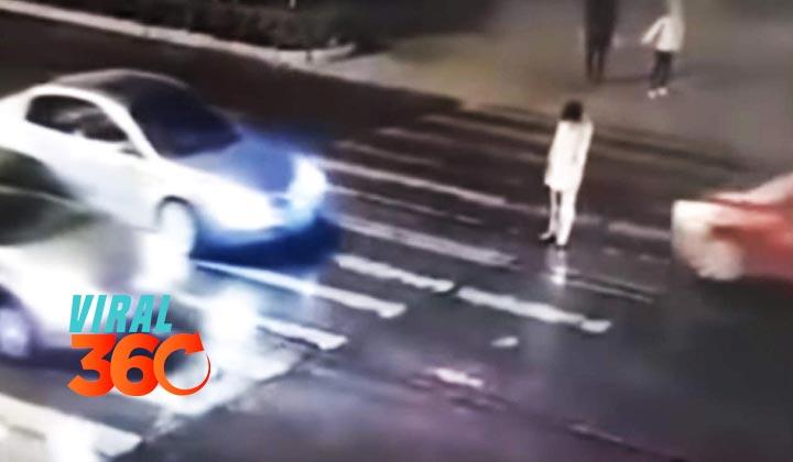 Mujer es atropellada dos veces en China, nadie la ayuda