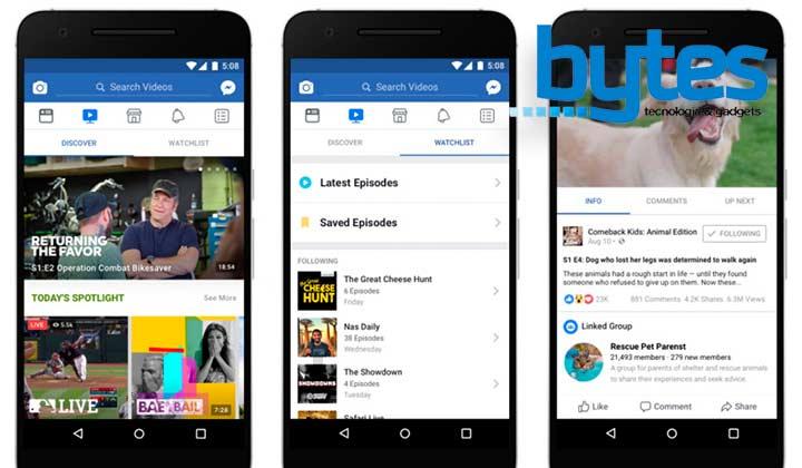 Watch, la nueva plataforma de video de Facebook