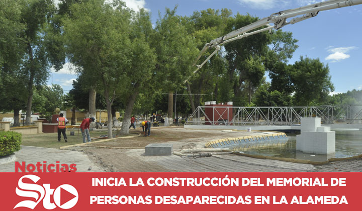 Inicia la construcción del memorial de personas desaparecidas