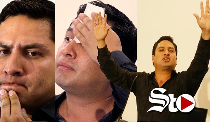Y así fue... Julión conoce a Raúl Flores