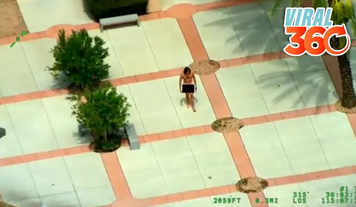 Hombre armado y desnudo entra a una iglesia en Las Vegas